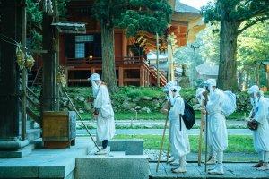 The yamabushi of northern Japan