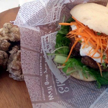 Vegan Burger Nourish