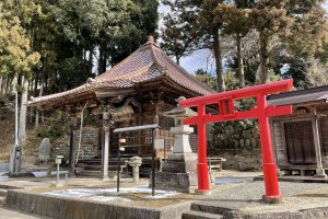 Ryusenji Temple side structure