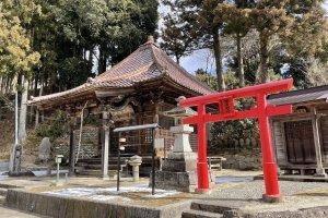 Вход в храм Рюсэндзи