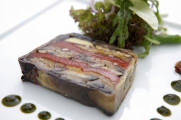Chef Matsuura's specialty, terrine.