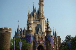壮观的迪斯尼城堡