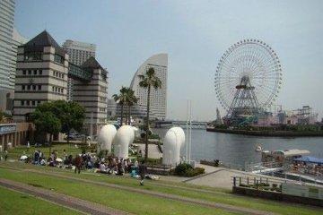 越看越像新加坡的鱼尾狮公园