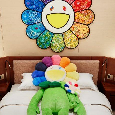 Takashi Murakami Flower Gallery Stay at Grand Hyatt Tokyo