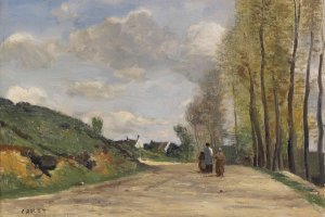 Works by Corot and others will be on display at the event