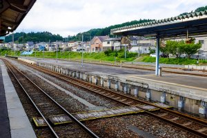 JR East Kesennuma Station