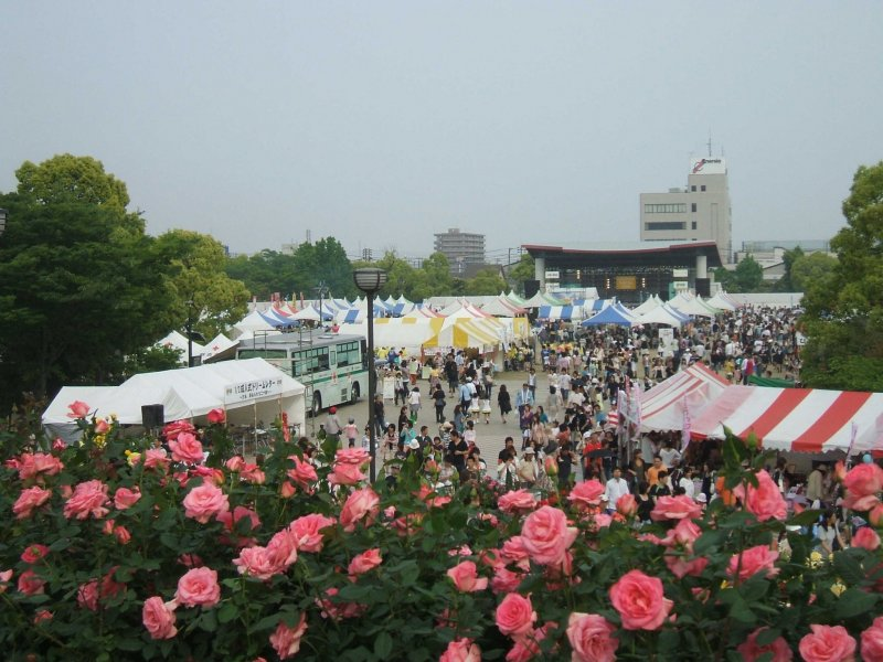 The Fukuyama Rose Festival has been running for over 50 years