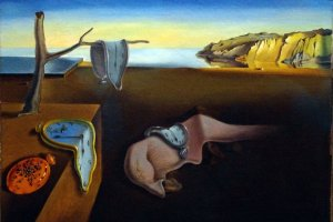 An example of Dali's Surrealist work: The Persistence of Memory (1931)