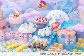 Cinnamoroll's Fluffy Sweets Wonderland