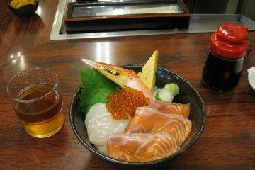 美味的海鲜饭!