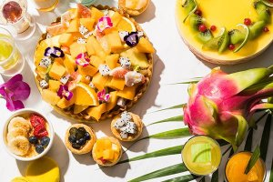 Mango is one of the key fruits involved in the desserts on offer
