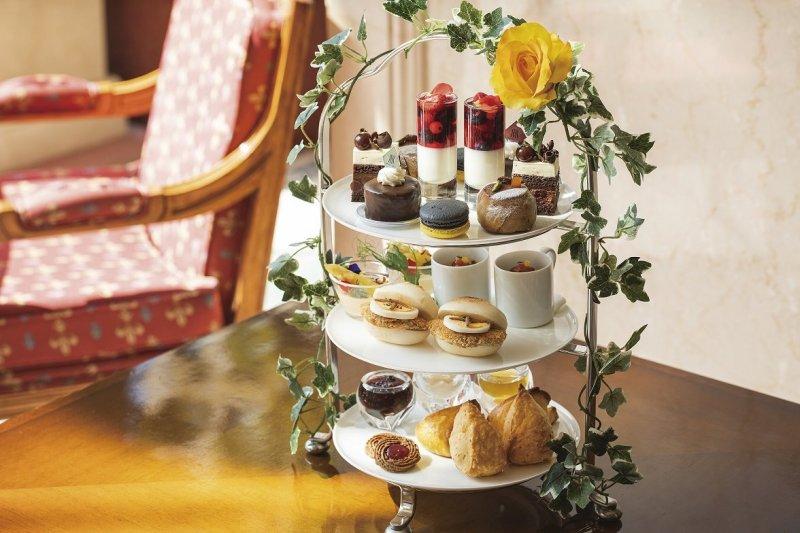 The Austrian-themed afternoon tea