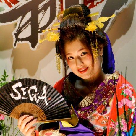 Токийское игровое шоу: живая реклама