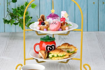 Kirby's Fountain of Dreams Afternoon Tea