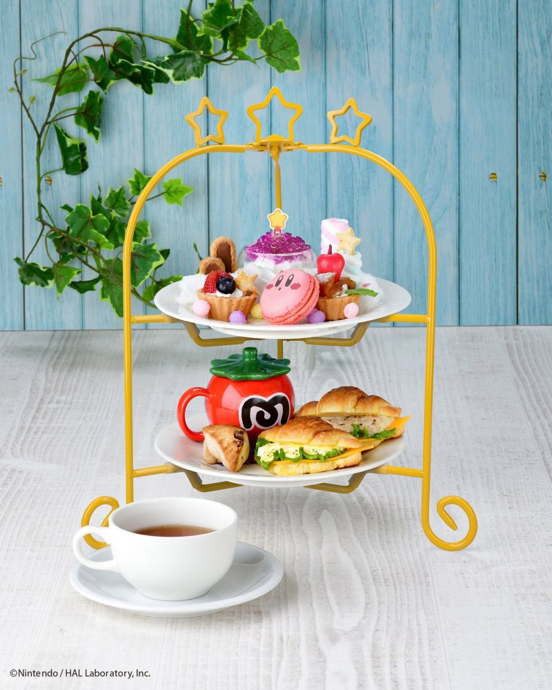The Kirby's Fountain of Dreams Afternoon Tea