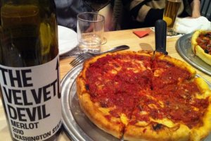 DevilCraft Chicago-style Pizza