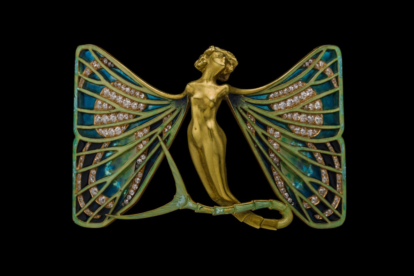 Lalique\'s works were regularly inspired by nature