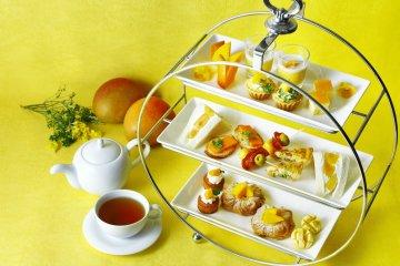Mango Afternoon Tea