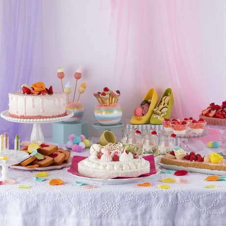 Pastel Sweets Buffet