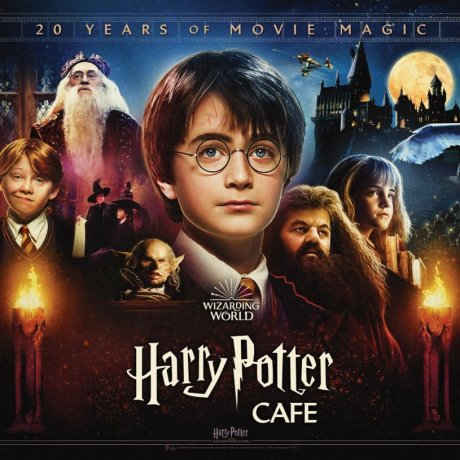 Harry Potter Cafe Pop-ups in Tokyo and Nagoya