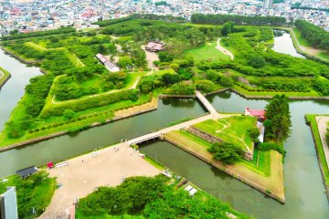 Goryokaku Fort from Tower