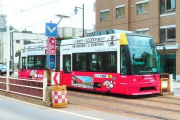 Hakodate Trolley or Streetcar