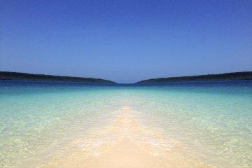 宮古島的陽光沙灘