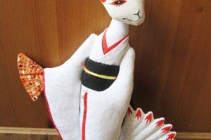 Kitsune with nine tails