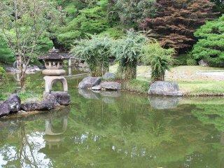 Part of Rinnoji Temple Garden