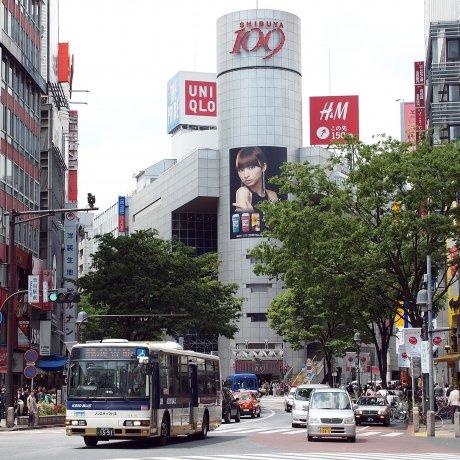 Shibuya's Dogenzaka Street