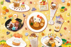 The food and drink on offer takes on an autumnal theme, with sweet potatoes and pumpkin featuring in many of the dishes