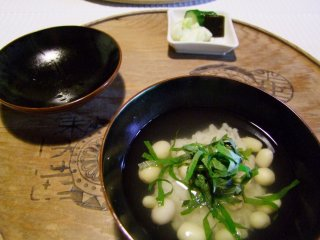 Une délicieuse soupe