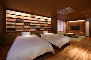 One of the six rooms at Ichijo