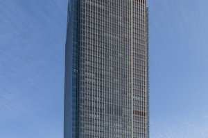 The tower is Japan's 6th tallest skyscraper