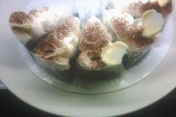 <p>Chocolate and Cream Cakes Galore at Cafe de Take</p>