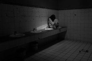 Do not trust little ghost girls in bathrooms
