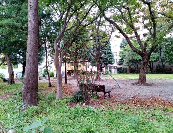 Sakanamachi Park in Sendai
