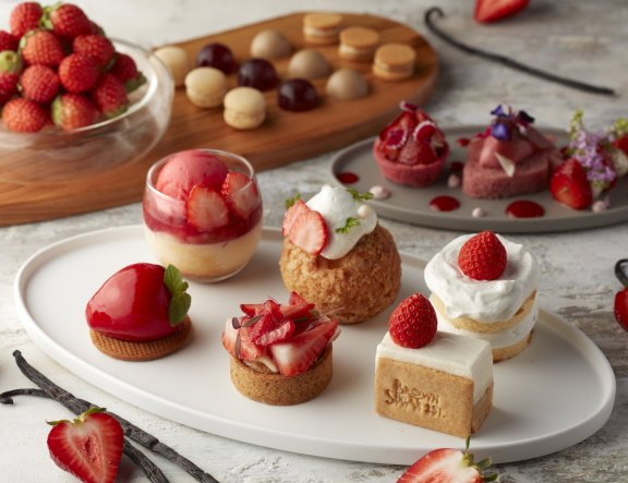 Strawberry Afternoon Tea