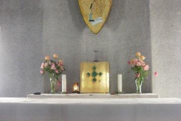 Altar in chapel