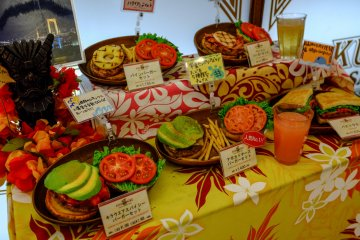 <p>Some of the delicious meals on offer</p>