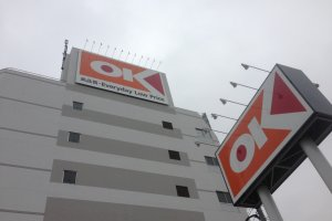 Welcome to OK, your one stop shop, literally.