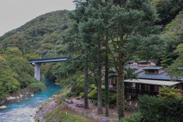 <p>ชิมะ เซริว โนะ ยุจากสะพานอาซาฮี</p>