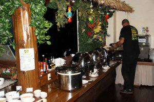 Bovino's buffet bar