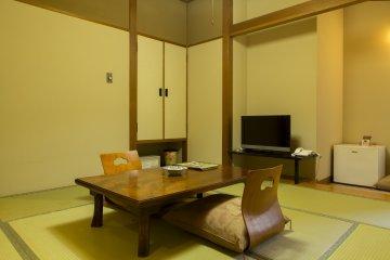 แต่ละห้องจะมีสถานที่ให้นั่งและเพลิดเพลินไปกับการจิบชา