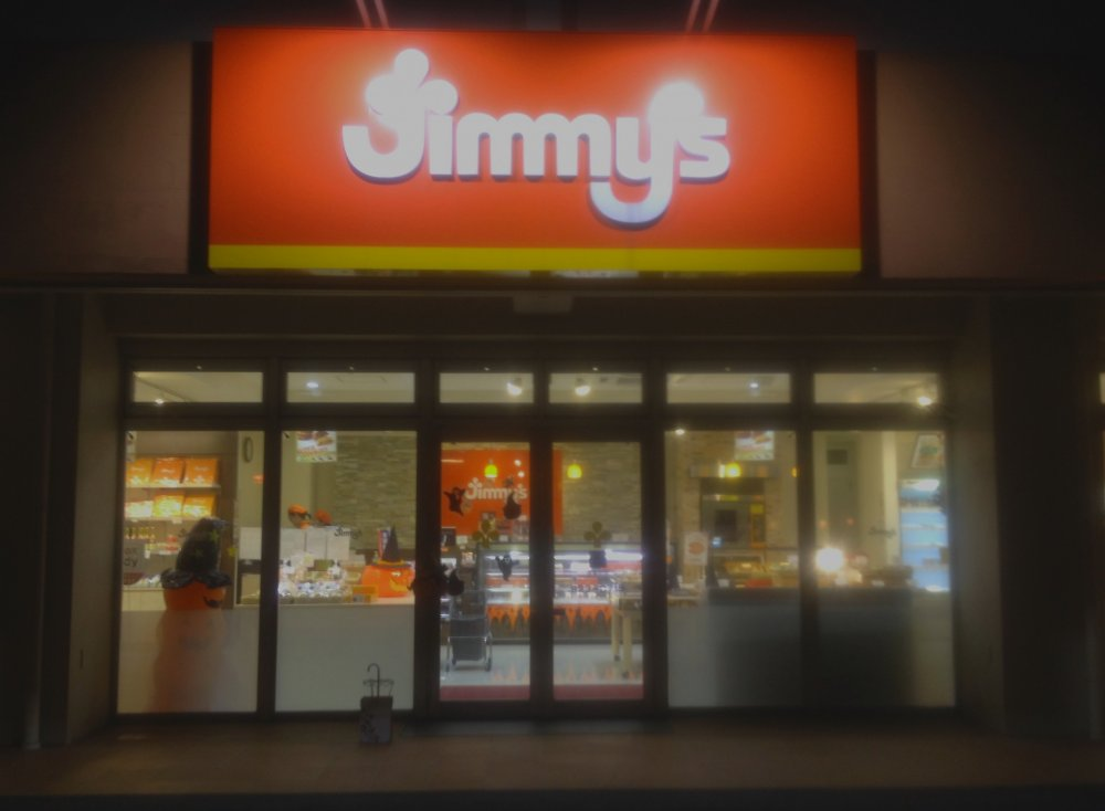 Look for the distinctive orange and white Jimmy's sign at 22 locations around the island