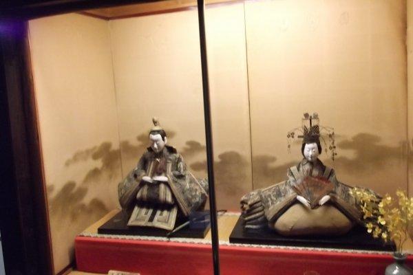 Đang đăng ký phòng? Một sự chào đón từ các tượng samurai