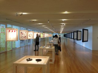 The exhibition hall