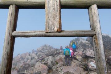 ปีนภูเขาชาอุสุ-ดาเกะในนาสุ