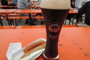Erdinger beer