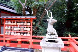 Deer Sculptures is one of the many links here with Nara